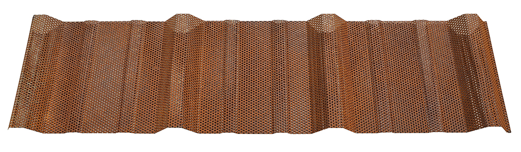 perforated corten r panel