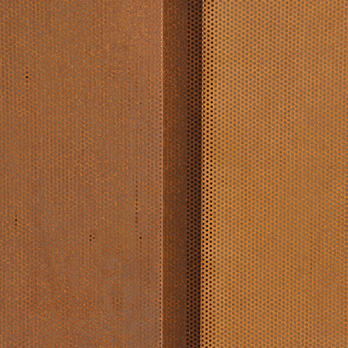 Perforated Corten Western Reveal 2.0